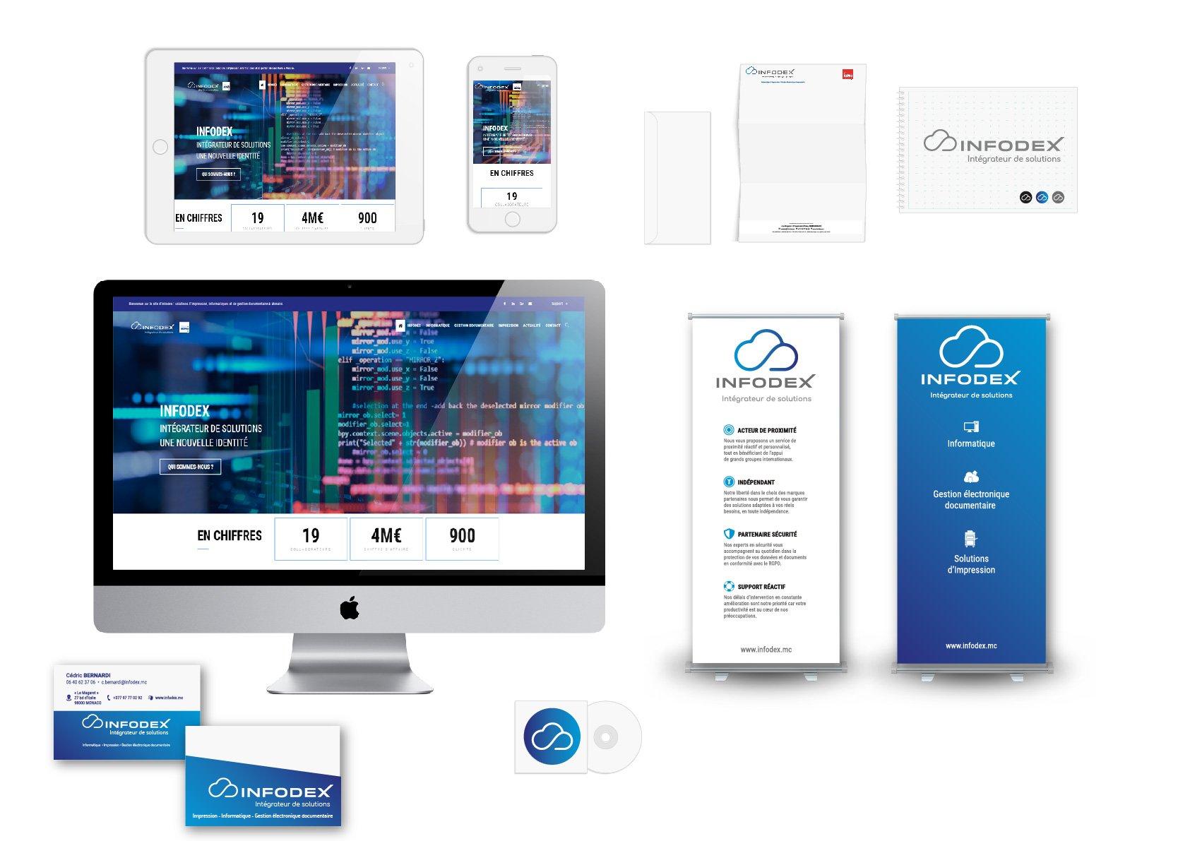 Infodex - Identite visuelle